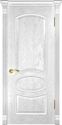 Двери Люксор Грация дуб белая эмаль