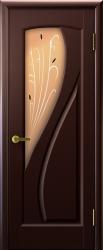 Двери Регионов Мария венге стекло бронза сатинато Камыш