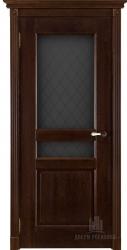 Двери массив Виктория античный орех мателюкс