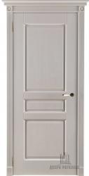 Двери массив Виктория слоновая кость