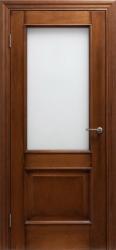 Дверь Портэ Виста Флоренция Классик светлый мед стекло гравировка