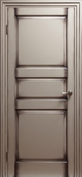 Дверь Портэ Виста Соленто 3 RAL 1013 патина