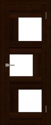 Двери Uberture Экошпон 2181 Дуб шоколадный