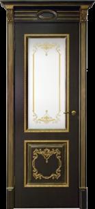 Чебоксарские двери ЮККА Верокко с патиной стекло