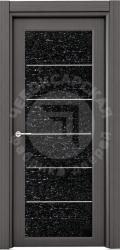 Чебоксарские двери ЧФД Люкс стекло с молдингом