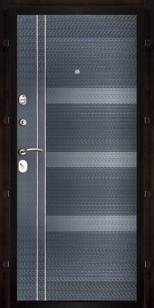 Панель Карбон ПВХ черная мозаика